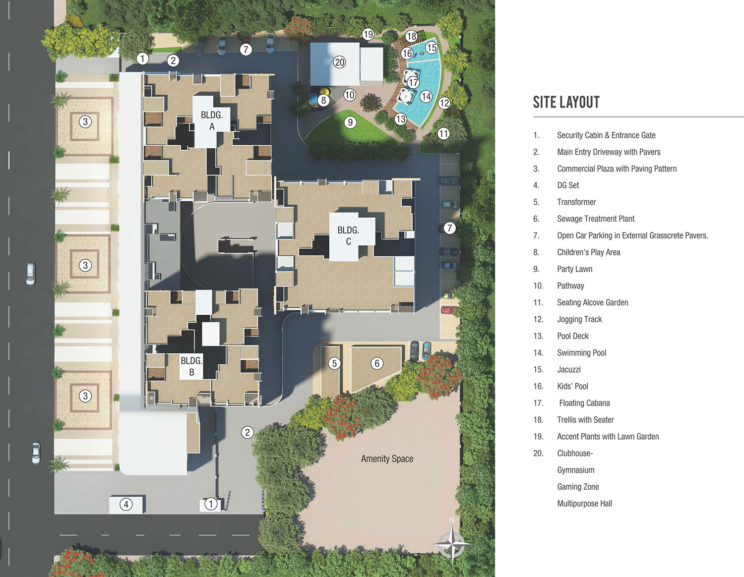 Gagan Signet Site Layout