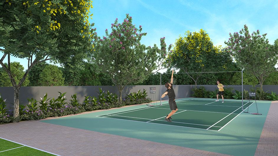 Gagan Klara Badminton Court